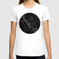 constellations T-shirts featuring Constellations  by Terry Fan