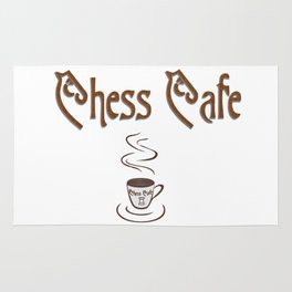 Chess Cafe Rug