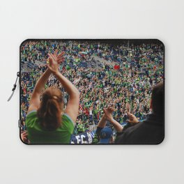 All as one for the Sounders!! Laptop Sleeve