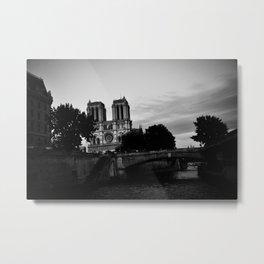 Notre Dame, Paris Metal Print