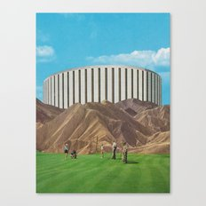 Golfers Canvas Print
