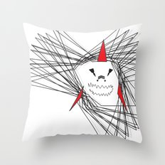 When Sharks Attack Throw Pillow