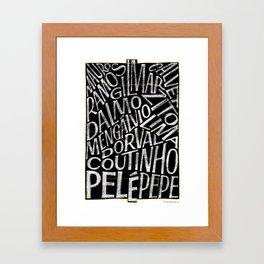 Os Santásticos 1962 Framed Art Print