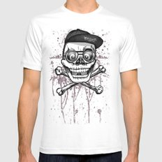 City of despair and good fortune White Mens Fitted Tee MEDIUM