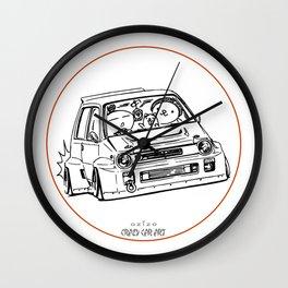 Crazy Car Art 0076 Wall Clock