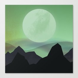 Hazy Mountains Canvas Print