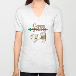 Coffee Time! Unisex V-Neck