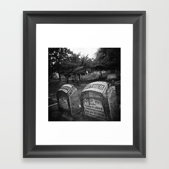 Mother/Father Framed Art Print