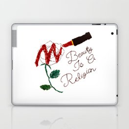 BeautyIsAReligion `Rose Lippy` Laptop & iPad Skin