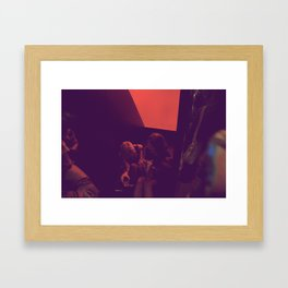 Come Up To my room Framed Art Print
