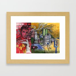 King Street Framed Art Print