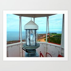Point Prim Lighthouse View Art Print