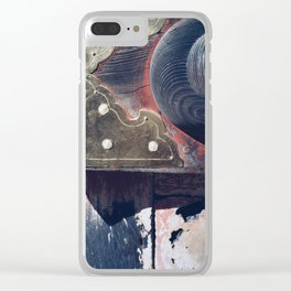 patina Clear iPhone Case
