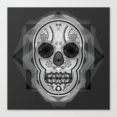 White skull Canvas Print
