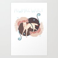 AWareWolf Art Print