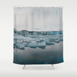 Jokulsarlon Shower Curtain