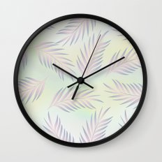 Palm Leaves 2 Wall Clock
