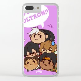 Tsum Tsum VLD Clear iPhone Case