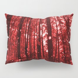 Magic Clearing Red Pillow Sham