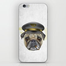 Pug Commander  iPhone & iPod Skin