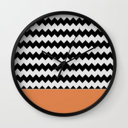 0001 Chevron Wall Clock