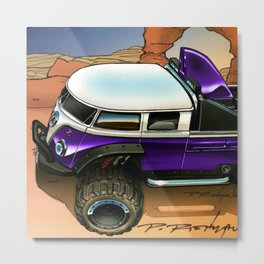 Hot Wheels Purple T1 Rockster Dragster Poster Trade Print Metal Print