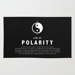 Law of Polarity Rug