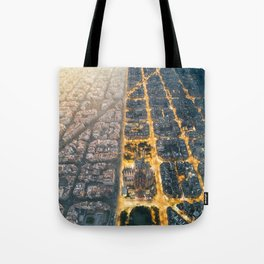 Light & Dark Tote Bag
