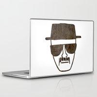 heisenberg Laptop & iPad Skins featuring Heisenberg by Spooky Dooky