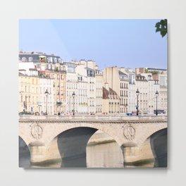 Bridge of Paris Metal Print