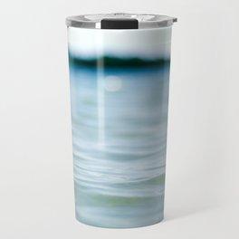Wave Bokeh The Deep End Travel Mug