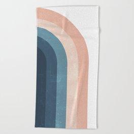 70s Rainbow Beach Towel