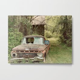Busted Truck Metal Print