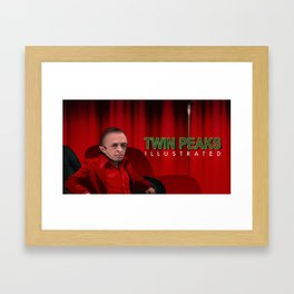The Man from another place Cover Framed Art Print
