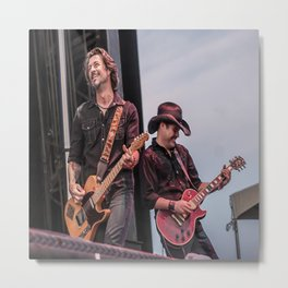 Roger Clyne and the Peacemakers shower curtain Metal Print