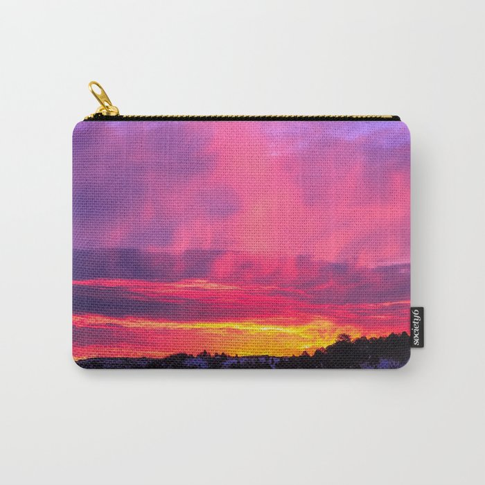 Sunset over the Artic Carry-All Pouch