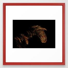 Vintage Horse Framed Art Print