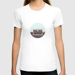Marfa Installation: A digital illustration T-shirt