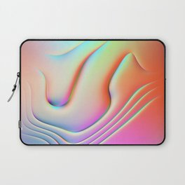 Holographic Abstract Waves - Bangerz Laptop Sleeve
