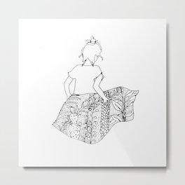 dream skirt Metal Print