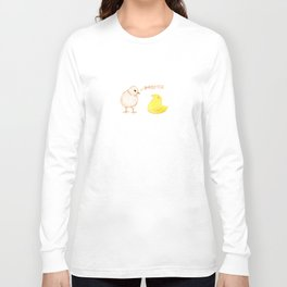 Peep Imposter Long Sleeve T-shirt