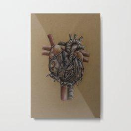 Circulatory Machine Metal Print