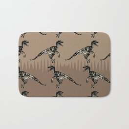 ChocoPaleo: Velociraptor Bath Mat