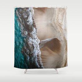 Beach or dress? Shower Curtain