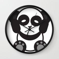 Panda Mantra Wall Clock