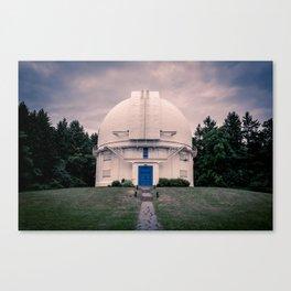 David Dunlap Observatory Richmond Hill Toronto Canada Canvas Print