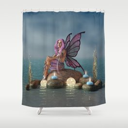 Ocean Dreaming Shower Curtain
