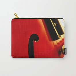 Guitar f Hole Carry-All Pouch