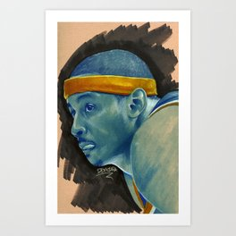 Melo my Man Art Print