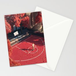 Sentimental Fall - Red Stationery Cards